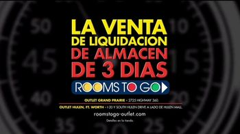 Rooms to Go Gran Venta de Liquidación TV Spot, 'Rebajado' [Spanish] - Thumbnail 10