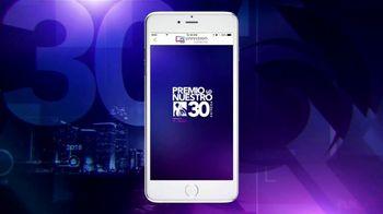 Univision Conecta TV Spot, 'Premio Lo Nuestro' [Spanish] - 238 commercial airings