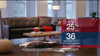 La-Z-Boy Presidents' Day Sale TV Spot, 'Almost Too Comfortable' - Thumbnail 4
