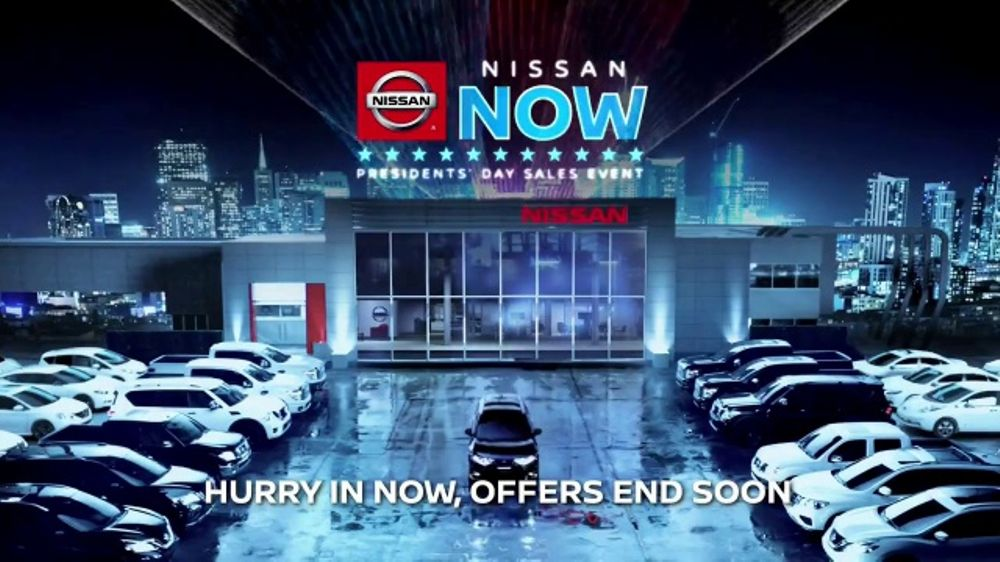 Nissan Now Presidents Day Sales Event TV Commercial, 'Can't Miss' [T2]