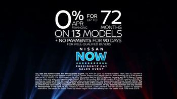 Nissan Now Presidents Day Sales Event TV Spot, 'Can't Miss' [T2] - Thumbnail 9