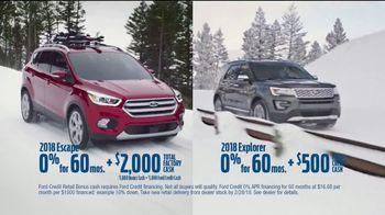 Ford TV Spot, 'Ski for Free' [T2] - Thumbnail 3