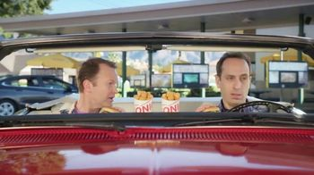 Sonic Quarter Pound Jr. Double Cheeseburger and Tots TV Spot, 'Double Take' - Thumbnail 5