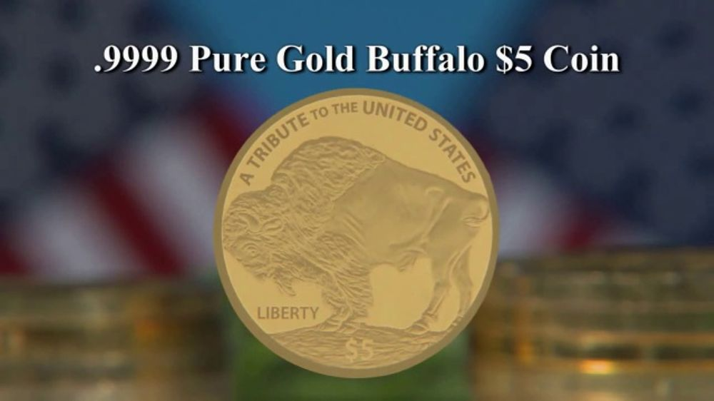 National Collector's Mint 2018 Gold Buffalo Tribute Proof TV Commercial, 'Struck'