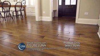 Luna Flooring 70 Percent Off Sale TV Spot, 'Incredible Savings'
