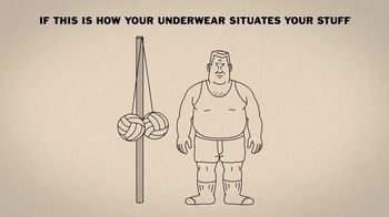 Duluth Trading Bullpen Underwear TV Spot, 'Tetherball' - Thumbnail 1