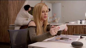 Google Home Mini TV Spot, 'Fashion Upgrade' Ft. Tara Lipinski, Johnny Weir - Thumbnail 2