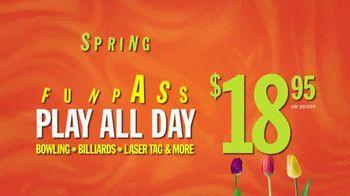 Main Event Entertainment Spring FunPass TV Spot, 'Spring Into Fun Mode' - Thumbnail 3