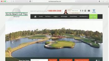 Myrtle Beach Golf Trips TV Spot, 'Free Round of Golf' - Thumbnail 6