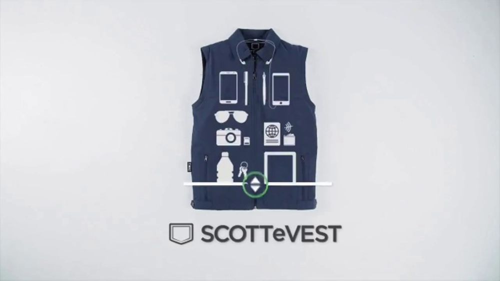 SCOTTeVEST TV Commercial, 'SCOTTeVEST Will Change Your Life: Promo Code'