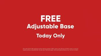 Mattress Firm Extended President's Day Sale TV Spot, 'Adjustable Bed'