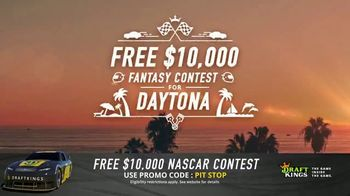 DraftKings TV Spot, 'NASCAR Fantasy Contest' - 1 commercial airings