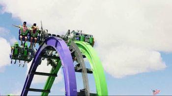 Six Flags Over Texas Combo Pass Sale TV Spot, 'Open Weekends' - Thumbnail 6