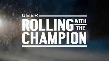 Uber TV Spot, 'Rolling With the Champion' Feat. LeBron James, Kevin Durant - Thumbnail 1