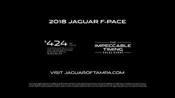 Jaguar The Impeccable Timing Sales Event TV Spot, 'Elevated: 2018 F-PACE' [T2] - Thumbnail 10