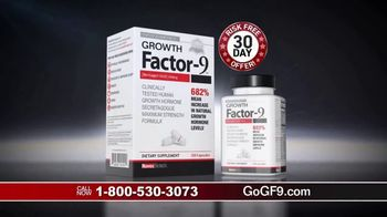 Growth Factor-9 TV Spot, 'Powerful Youth Hormone' - 404 commercial airings