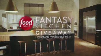 Food Network Fantasy Kitchen Giveaway TV Spot, 'Win $25,000' - Thumbnail 1