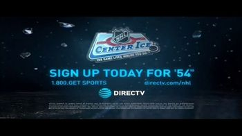 DIRECTV NHL Center Ice TV Spot, 'Every Goal, Save & Hit: 54.99' - Thumbnail 9