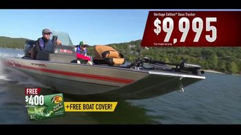 Bass Pro Shops TV Spot, 'Tracker Boat Surprise' Featuring Bill Dance - Thumbnail 10