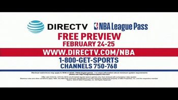 DIRECTV TV Spot, 'NBA League Pass: February Free Preview' - Thumbnail 8