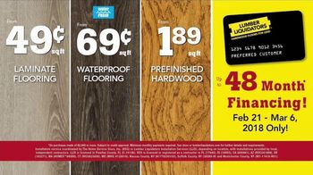 Lumber Liquidators Best Sellers Flooring Sale TV Spot, 'Spring Flooring' - Thumbnail 6