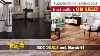 Lumber Liquidators Best Sellers Flooring Sale TV Spot, 'Spring Flooring' - Thumbnail 3