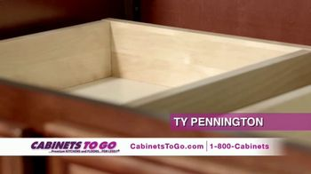 Cabinets To Go TV Spot, 'February Buy One Get One' Featuring Ty Pennington - Thumbnail 3