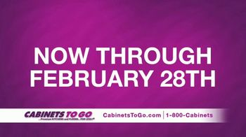 Cabinets To Go TV Spot, 'February Buy One Get One' Featuring Ty Pennington - Thumbnail 6