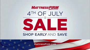 Mattress Firm Fourth of July Sale TV Spot, 'Love Your Mattress Guaranteed!' - Thumbnail 1