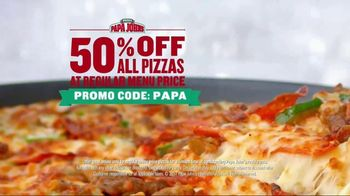 Papa John's TV Spot, 'Things We Love Cutting' - Thumbnail 7