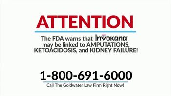 Goldwater Law Firm TV Spot, \'Type 2 Diabetes Medications\'