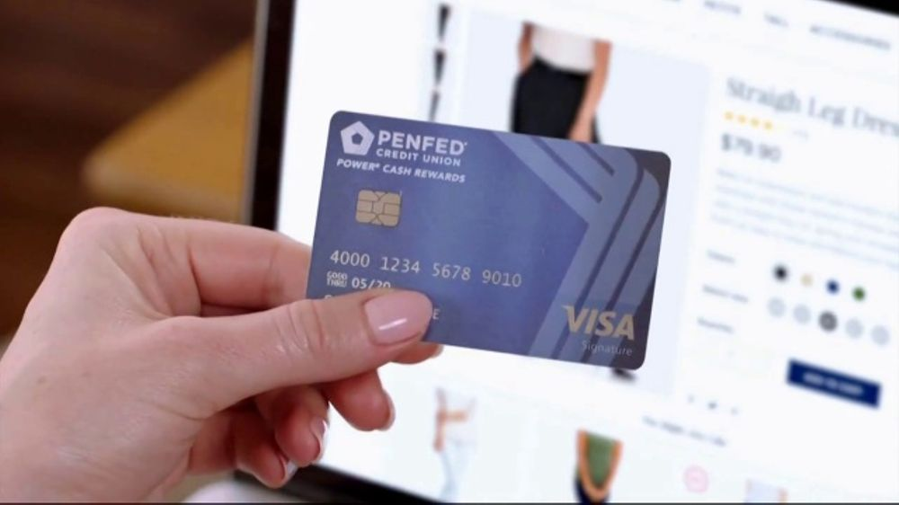 Pen Fed Credit Union >> Penfed Power Cash Rewards Visa Card Tv Commercial Unlimited Cash Back Video