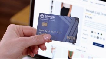 PenFed Power Cash Rewards VISA Card TV Spot, 'Unlimited Cash Back' - Thumbnail 1