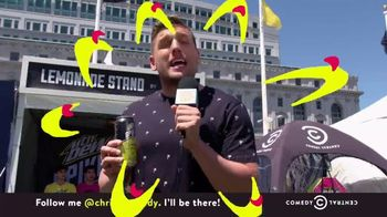 Mountain Dew Spiked Lemonade TV Spot, 'Comedy Central: Clusterfest' - Thumbnail 9