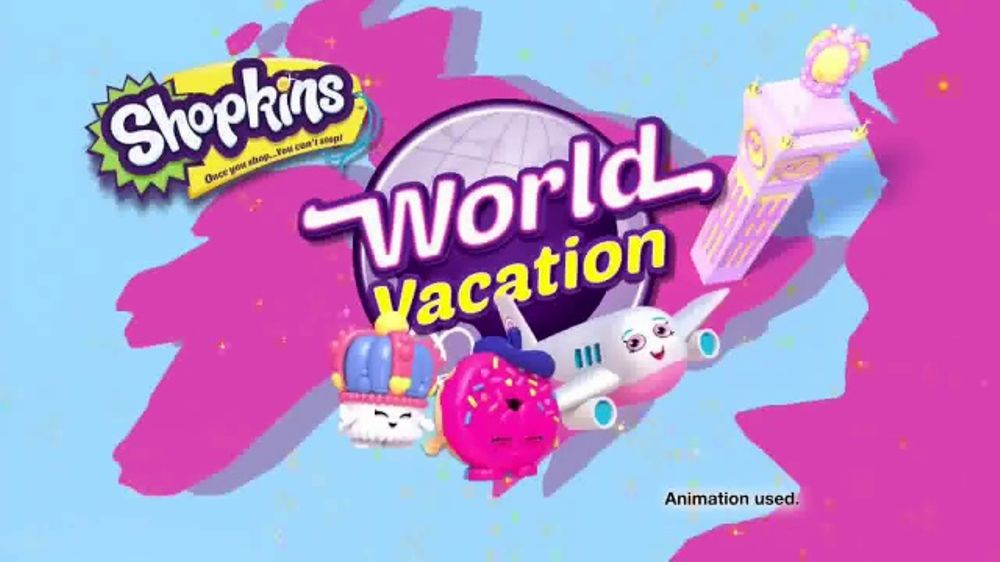 Shopkins World Vacation TV Commercial Discover Country Teams