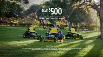 John Deere Z525E ZTrak TV Spot, 'Spread the Word' Featuring Dolph Lundgren - Thumbnail 8