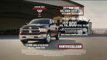 Ram Trucks 4th of July Sales Event TV Spot, 'Airplane Rescue: Tough' [T2] - Thumbnail 9