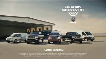 Ram Trucks 4th of July Sales Event TV Spot, 'Airplane Rescue: Tough' [T2] - Thumbnail 8
