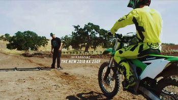 2018 Kawasaki KX 250F TV Spot, 'Seconds' Ft. Ryan Villopoto, Jeremy McGrath - Thumbnail 1