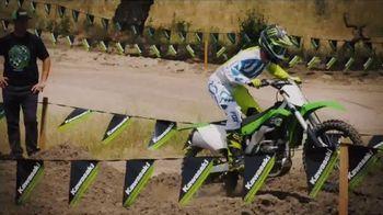 2018 Kawasaki KX 250F TV Spot, 'Seconds' Ft. Ryan Villopoto, Jeremy McGrath - Thumbnail 6