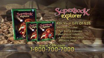 CBN Superbook DVD Club TV Spot, 'Explorer Volume Nine'