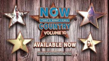 Now That's What I Call Country Volume 10 TV Spot, 'Hottest Country Hits'