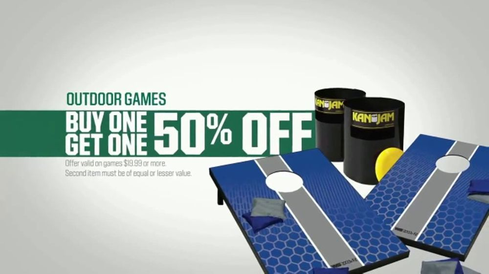 Dick's Sporting Goods Biggest Buy One Get One Sale TV Commercial, 'Father's Day'