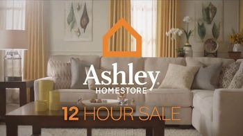 Ashley HomeStore 12 Hour Sale TV Spot, 'First Item and Whole Purchase' - Thumbnail 2