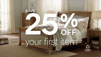 Ashley HomeStore 12 Hour Sale TV Spot, 'First Item and Whole Purchase' - Thumbnail 4