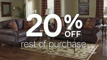 Ashley HomeStore 12 Hour Sale TV Spot, 'First Item and Whole Purchase' - Thumbnail 5