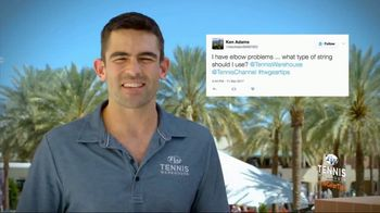 Tennis Warehouse TV Spot, 'Gear Tips: Elbow Problems' - Thumbnail 2