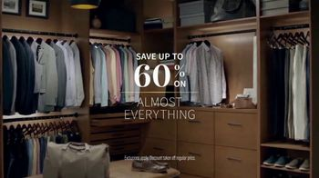 JoS. A. Bank Father's Day Sale TV Spot, 'Executive Suits, Shirts and Shoes' - Thumbnail 2