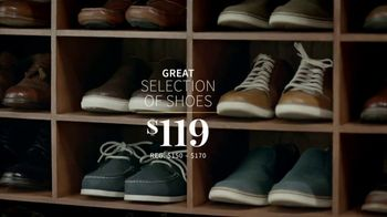 JoS. A. Bank Father's Day Sale TV Spot, 'Executive Suits, Shirts and Shoes' - Thumbnail 6