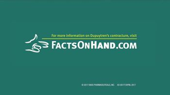 Endo Pharmaceuticals TV Spot, 'Dupuytren's Contracture: Diner' - Thumbnail 9